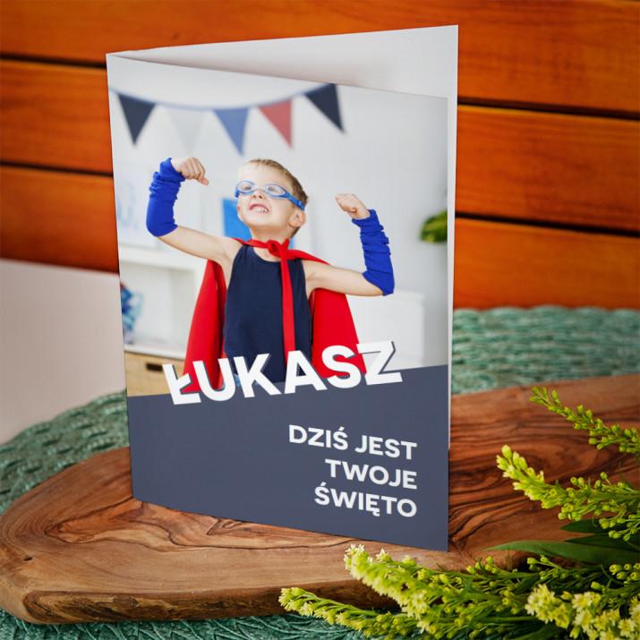 Twoje święto - kartka z życzeniami