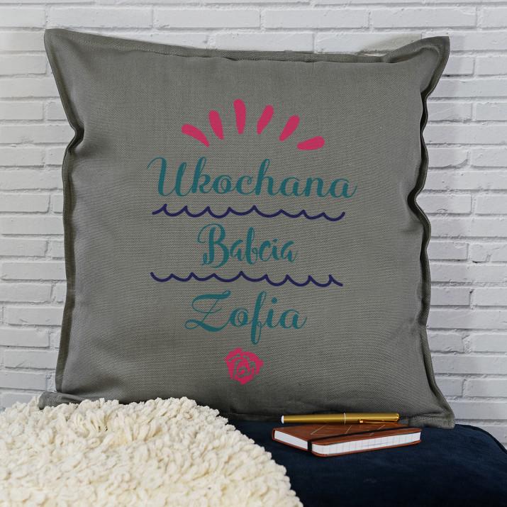 Ukochana Babcia - Poduszka dekoracyjna