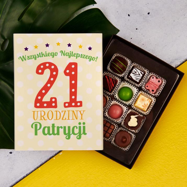 Urodziny - Praliny z belgijskiej czekolady