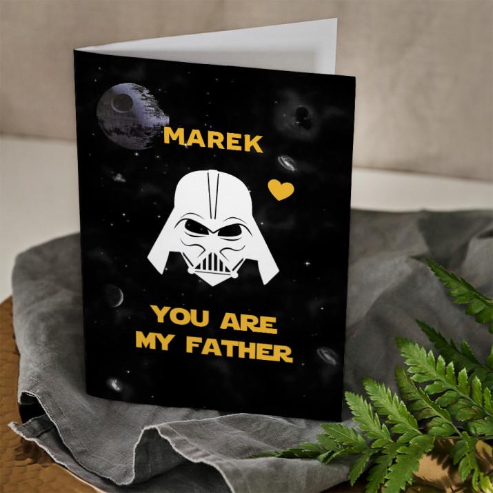 Vader Dad - kartka z życzeniami