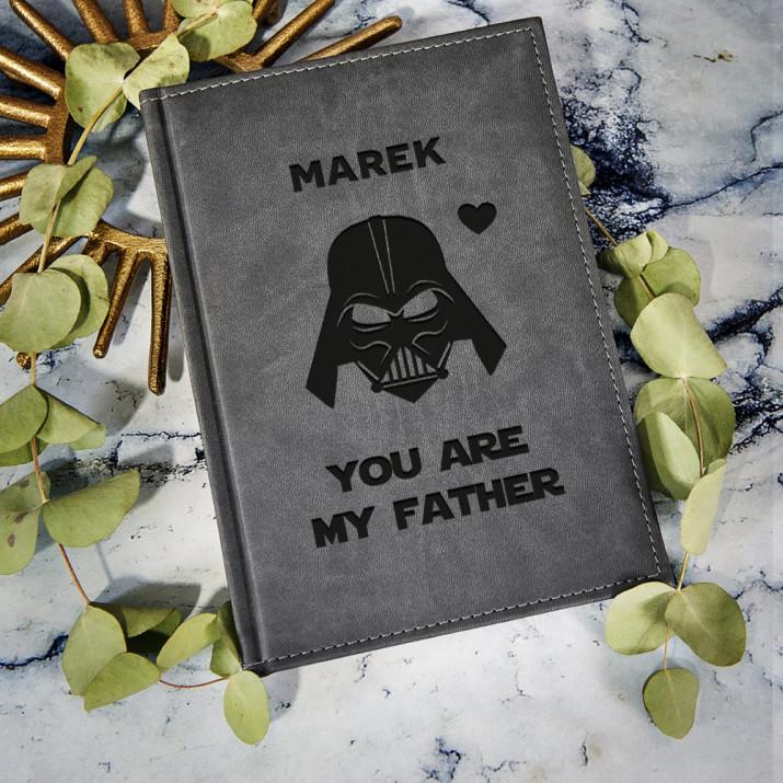 Vader Dad - notatnik grawerowany A5