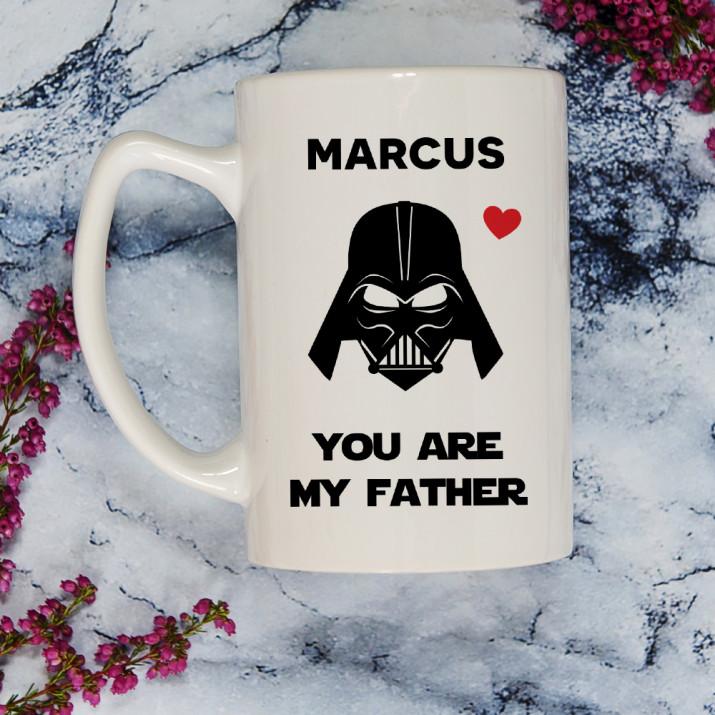 Vader Dad - Personalisierte Tasse