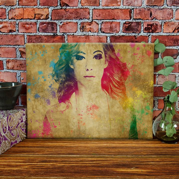 Watercolor - obraz na płótnie