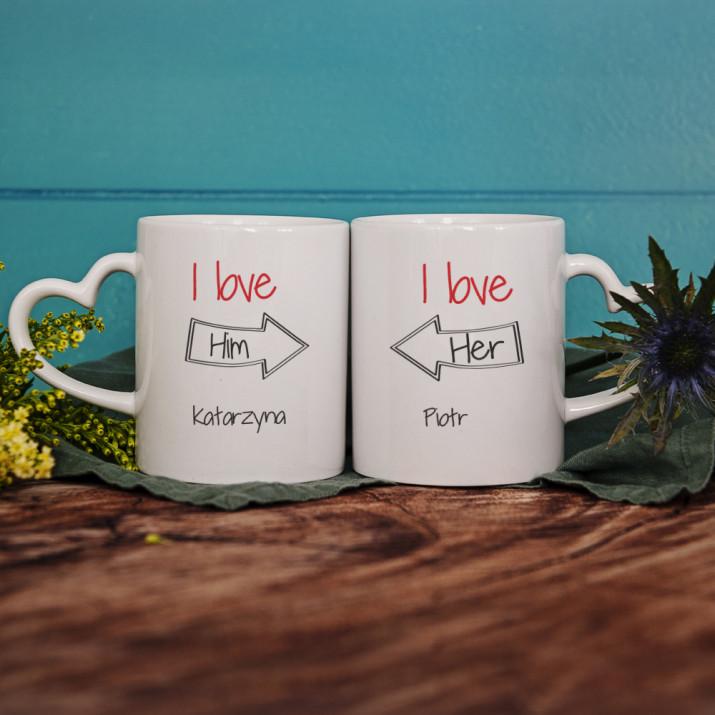 We Love Each Other - Kubki dla pary