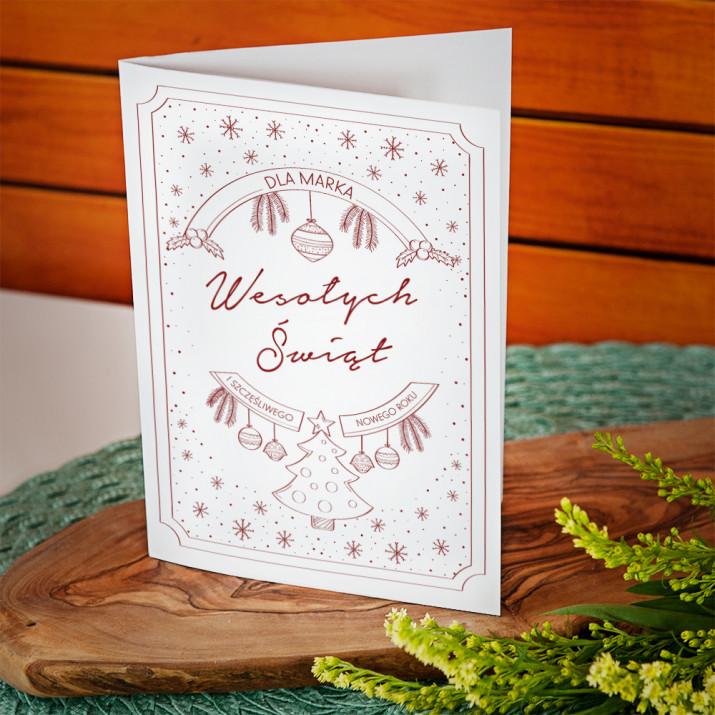 Wesołych - kartka z życzeniami