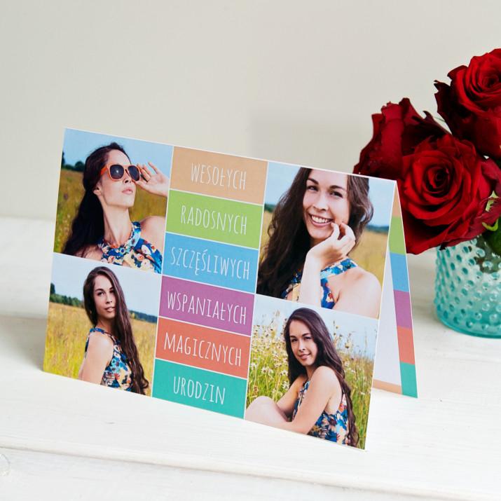 Wesołych, radosnych - kartka z życzeniami