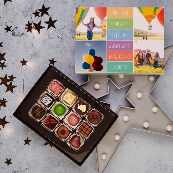 Wesołych, radosnych - Praliny z belgijskiej czekolady