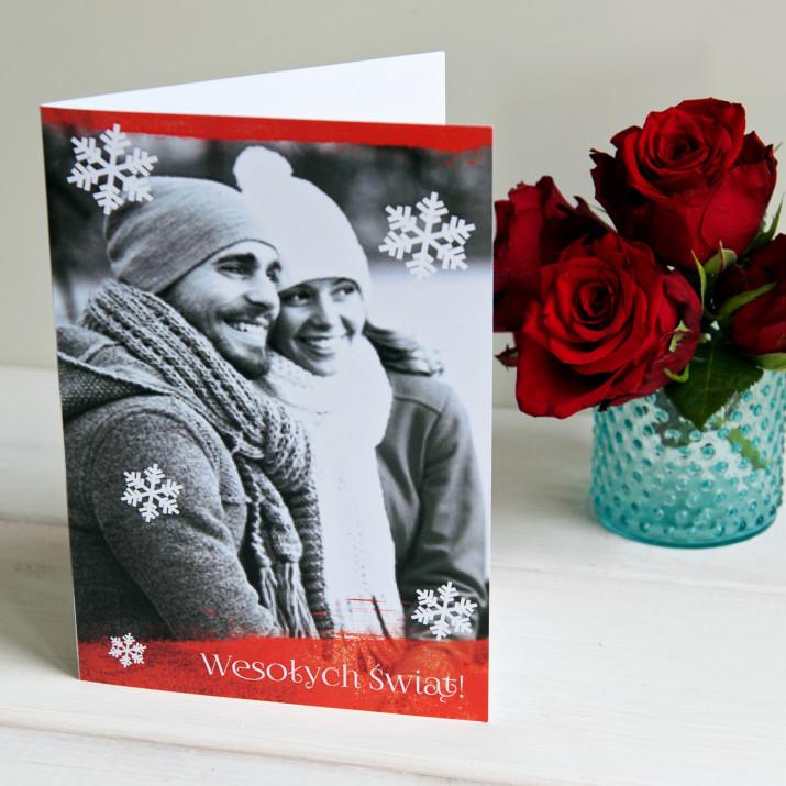 Wesołych Świąt - kartka z życzeniami