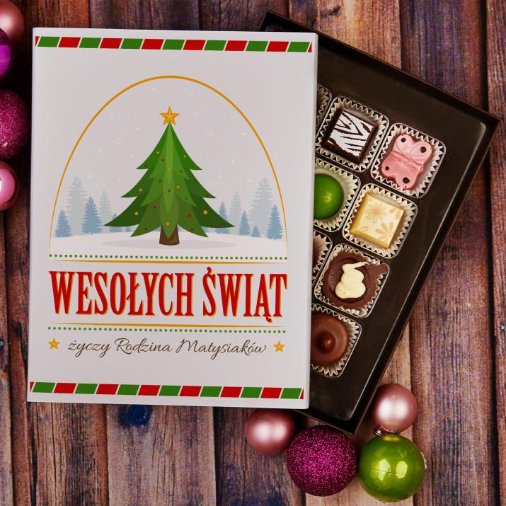 Wesołych Świąt - Praliny z belgijskiej czekolady