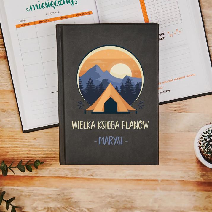 Wielka księga planów - Planer Książkowy A5