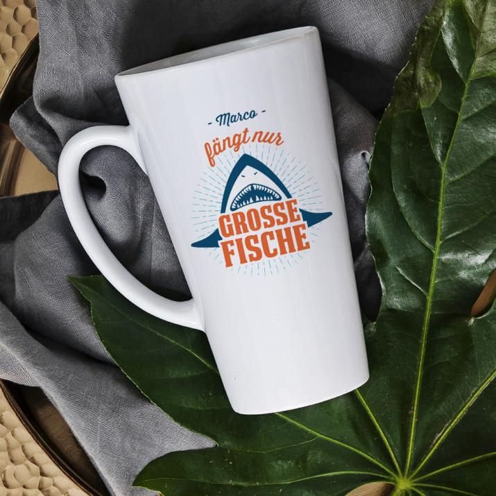 Große Fische - personalisierte Tasse
