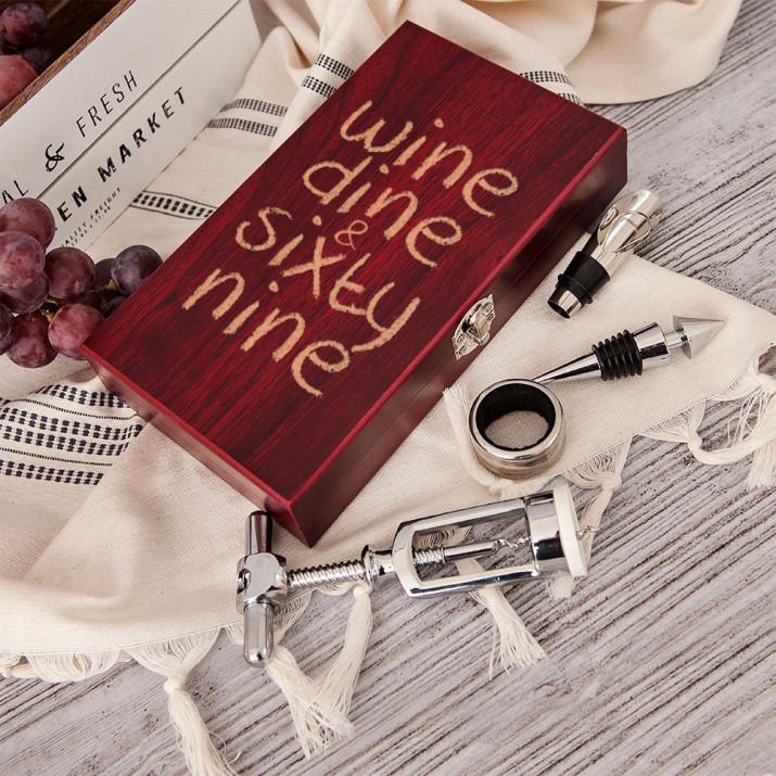 Wine, dine & sixty nine - zestaw do wina