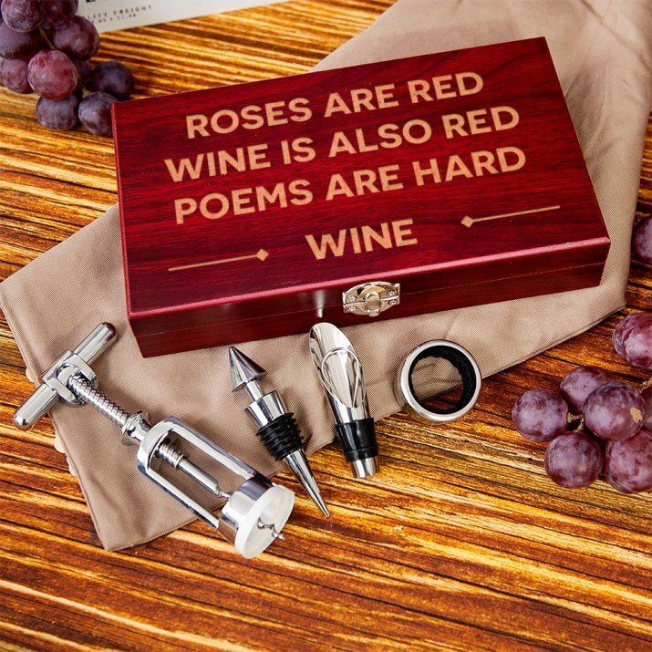 Wine poem - zestaw do wina