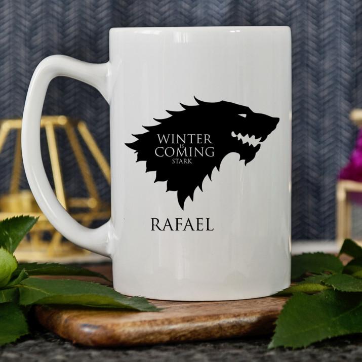 Winter is Coming Stark - Tasse