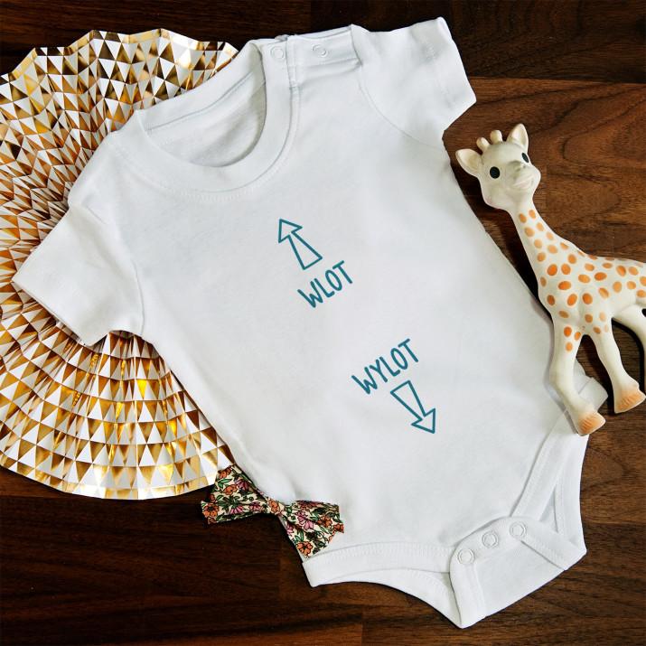 Wlot-wylot - body niemowlęce
