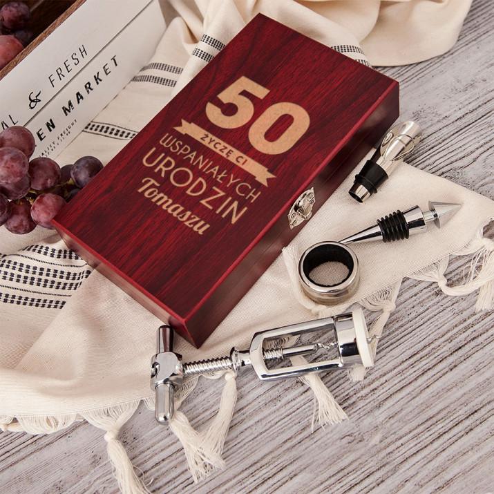 Wspaniałe urodziny - zestaw do wina