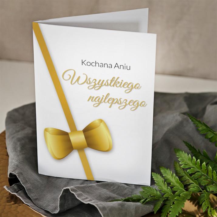 Wszystkiego najlepszego elegant - kartka z życzeniami