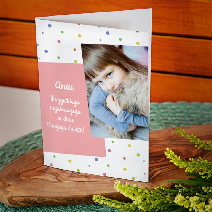 Wszystkiego najlepszego - kartka z życzeniami