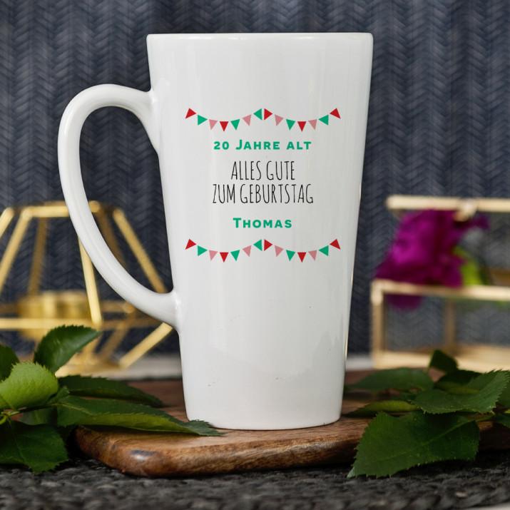 Alles Gute - Personalisierte Tasse