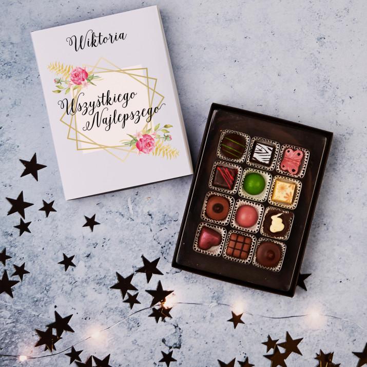 Wszystkiego najlepszego - Praliny z belgijskiej czekolady