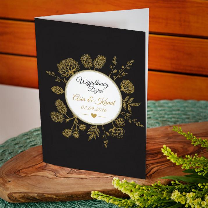 Wyjątkowy dzień - kartka z życzeniami
