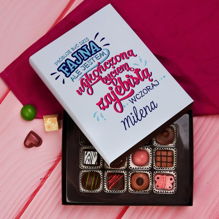 Wykończona - Praliny z belgijskiej czekolady
