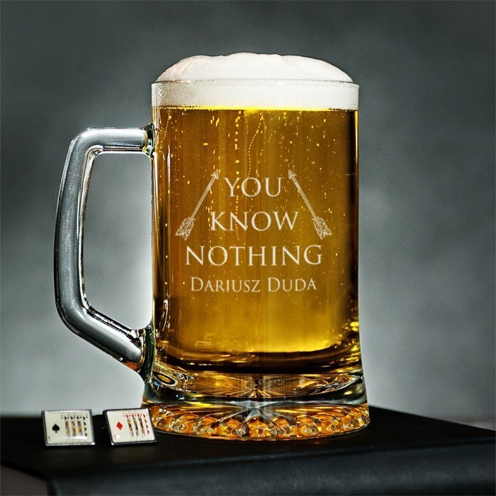 You Know Nothing - Kufel na piwo