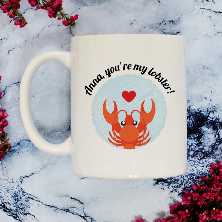 You`re my lobster! - Personalisierte Tasse