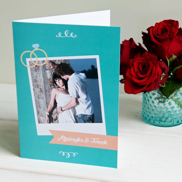 Zaręczyny - kartka z życzeniami