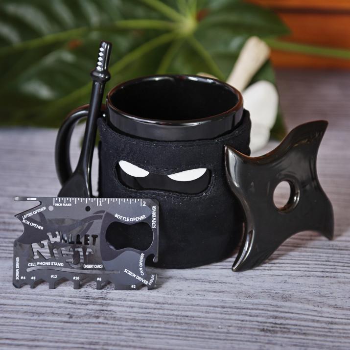 Zestaw Kubek Ninja + Wallet Ninja