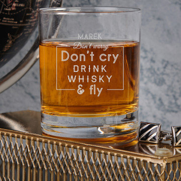 Don`t cry - Whiskyglas
