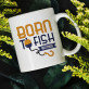 Born to fish - personalisierte Tasse