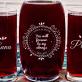 Couple - Zestaw grawerowana karafka i dwie szklanki