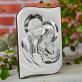 Dziecko to dar od Boga - Św. Rodzina - Srebrny Obrazek z Grawerem