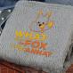 Fox - koc z haftem