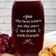 Friends - Grawerowana karafka do wina