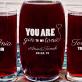 Gin&Tonic - Zestaw grawerowana karafka i dwie szklanki