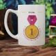 Medaille für Mama - personalisierte Tasse