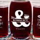 Mr&Mrs right - Zestaw grawerowana karafka i dwie szklanki