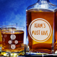 Must Have - Zestaw Grawerowana Karafka I Szklanki Do Whisky