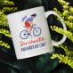 Schnellster Radfahrer - personalisierte Tasse