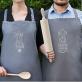 Nie Ufaj - Zestaw dwóch fartuchów kuchennych