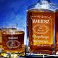 Old no - Zestaw Grawerowana Karafka I Szklanki Do Whisky