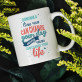 One run can change your day - personalisierte Tasse