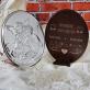 Na pamiątkę chrztu - Anioł stróż - Srebrny Obrazek z Grawerem
