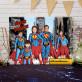 Super Familie - Lenwandbild