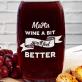 Wine a bit! - Grawerowana karafka