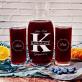 Zakochani - Zestaw grawerowana karafka i dwie szklanki